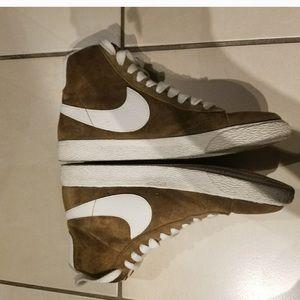 Nike Blazer Suede Sneakers